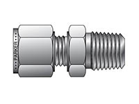 A-LOK Metric Tube NPT Male Connector - MSC