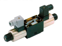 D1VW Series - Double solenoid, 3 position, spring centered