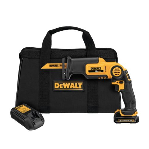 DeWALT, 12V MAX PIVOT RECIP SAW KIT