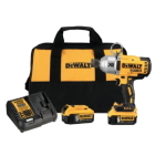 DeWALT, 20V 7/16 IMPACT WRENCH KIT (5AH)
